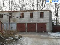 Вид на гаражи