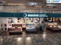 Мебельный отдел Askona в Мега Молле