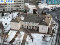 Вид с высоты на ул. Ивана Франко 3А