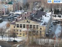 Вид на ДК Хузангая с высоты