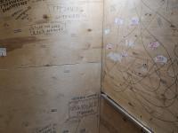 Доски в лифте