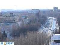 Вид на Московский проспект с высоты