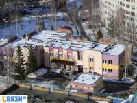 Вид с высоты на детский сад