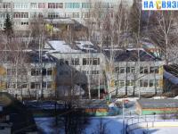Вид на детский сад с высоты