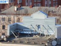 На крыше у Чувашгражданпроекта