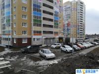 Парковка у дома ул. Радужная 10