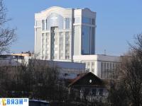Вид на новое здание МВД