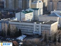 Вид сверху на административные здания