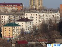Вид на дома по улице Ивана Франко