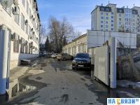 Внутренняя территория ул. Ярославская 76