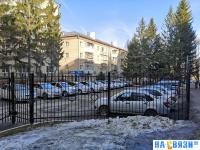 Защищенная парковка для сотрудников МВД