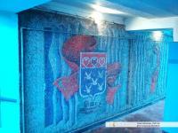 """Мозаика в подземном переходе у """"Сеспеля"""""""