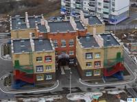 """Вид сверху на детский сад """"Лапландия"""""""