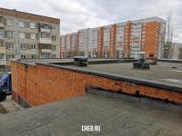 Крыша торговой части