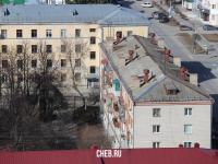 Вид сверху на ул. Дзержинского 19