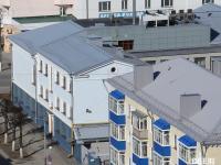Вид на здание Госбанка