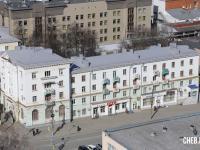 Вид сверху на Ярославская 42