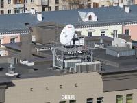 На крыше здания Госбанка