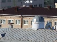 Телескоп на главном корпусе ЧГПУ