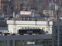 На крыше в МФЦ