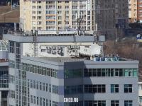 На крыше МФЦ