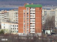 Вид на ул. Лебедева 64к1