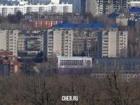 Вид на девятиэтажки по ул. Энтузиастов