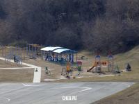 Детская и спортивная площадка