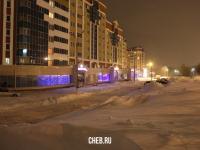 Снежный вечер