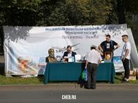 Стенд Московского политехнического университета на День города