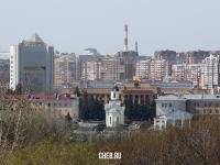 Вид на центральную часть Чебоксар