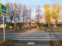 Пешеходный переход на ул. Сергия Радонежского