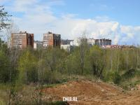 Вид на Юго-Западный район со стороны Садового