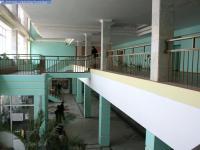 Фойе средней части нового корпуса ЧГУ