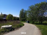 Дорога в сторону коттеджей