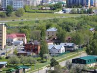 Вид на дома по улице Суворова