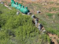 Система отвода воды микрорайона Радужный