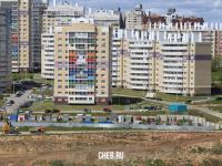 Вид на ул. Радужная 18