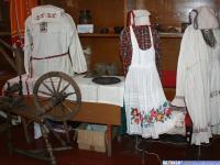 Чувашские национальные костюмы в этнографическом музее