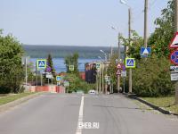 Дорожные знаки на улице Лебедева