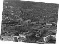 Вид на город с самолета, 1969 год