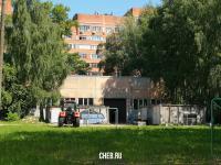 Территория машиностроительного факультета ЧГУ