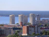 Вид на башни в центральной части города