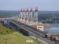 ГЭС в городе Новочебоксарск