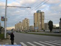 Высотные дома по проспекту 9-й пятилетки