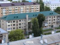 Вид сверху на пр. Ленина 42