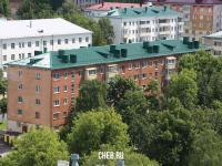 Вид сверху на пр. Ленина 44