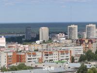 Панорама высоток в центре города