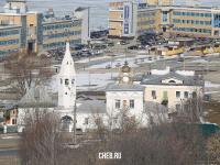 Вид сверху на ул. Калинина 1
