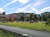 Детская площадка на улице Ислюкова